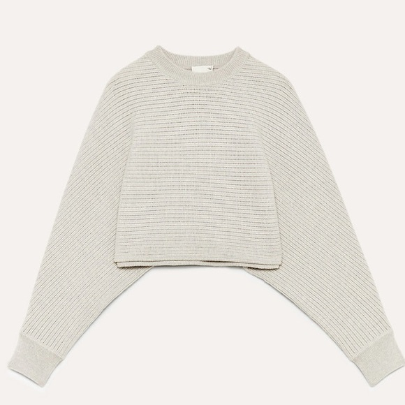 Wilfred Free Crop Sweater